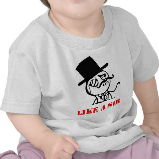 Como un sir - meme camiseta