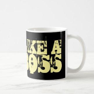 Como una taza de café del jefe