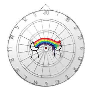 Cómo usted le conoce es gay - los arco iris tablero dardos