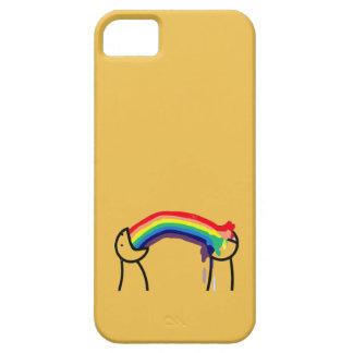 Cómo usted le conoce es gay - los arco iris iPhone 5 funda