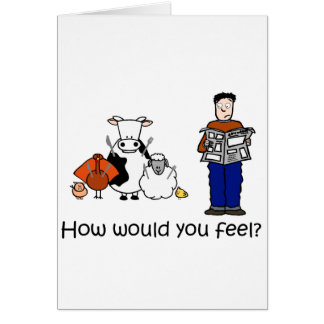 Cómo usted sentiría tarjetas