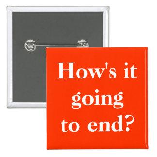 ¿Cómo va a terminar Pin del botón