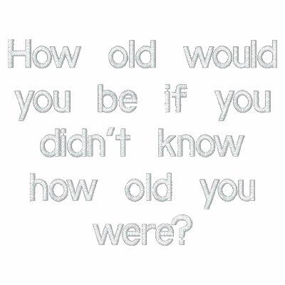 ¿Cómo viejo usted sería? sudadera con capucha