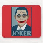 Comodín de Anti-Obama Alfombrillas De Ratones