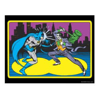 Comodín de las luchas de Batman Postal