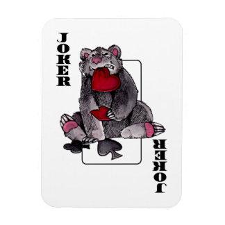 Comodín del oso imán de vinilo