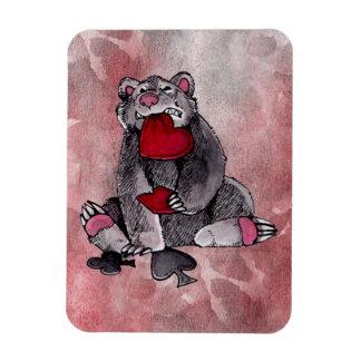 Comodín del oso iman de vinilo