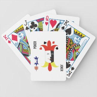 Comodín del póker baraja cartas de poker
