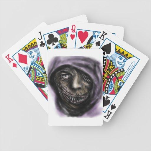 Comodín oscuro baraja cartas de poker