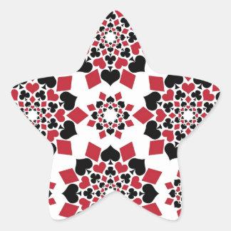 Comodines Pegatina En Forma De Estrella