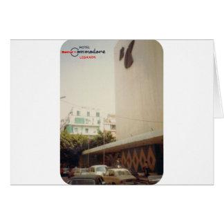 Comodoro Beirut del hotel Tarjeta