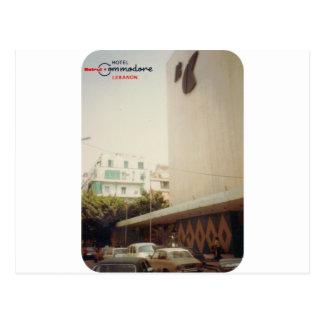 Comodoro Beirut del hotel Tarjetas Postales