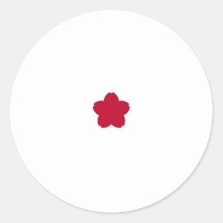 Comodoro estándar, Japón Pegatina Redonda