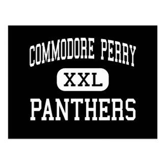 Comodoro Perry - panteras - alto - Hadley Postal