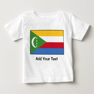 Comoros – Comoran Flag Baby T-Shirt