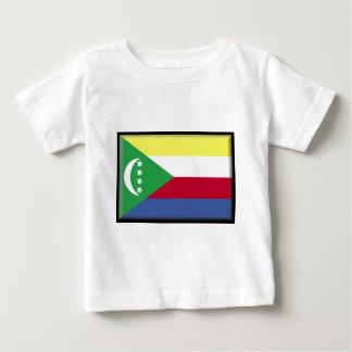 Comoros Flag Baby T-Shirt
