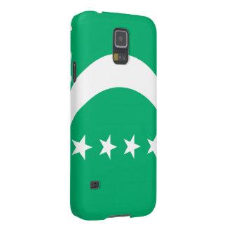 Comoros Flag Case For Galaxy S5