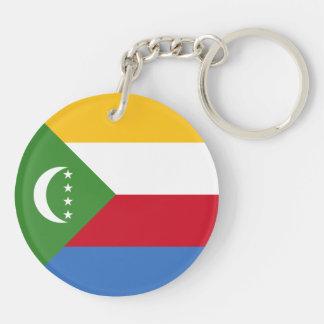 Comoros Flag Keychain
