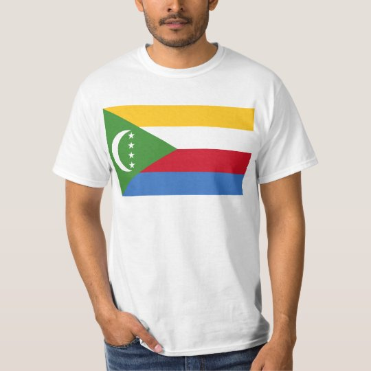 Comoros flag KM T-Shirt
