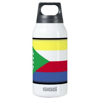 Comoros Flag Thermos Bottle
