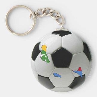 Comoros national team keychain