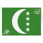Comoros old, Comoros Greeting Cards