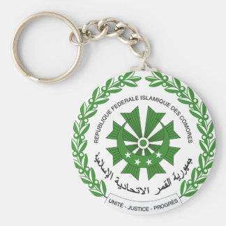 comoros seal keychain