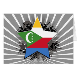 Comoros Star Greeting Card