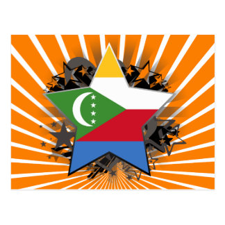 Comoros Star Postcard