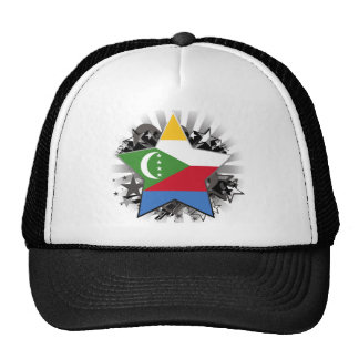 Comoros Star Trucker Hats