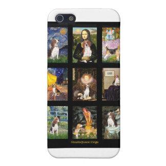 Comp famosos 1 del beagle del arte iPhone 5 funda