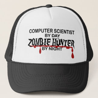Comp Sci Zombie Hunter Trucker Hat