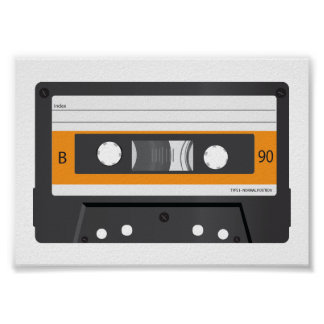 Compact Cassette poster. Poster
