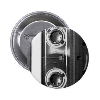 Compact Cassette Tape Buttons