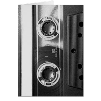 Compact Cassette Tape Card