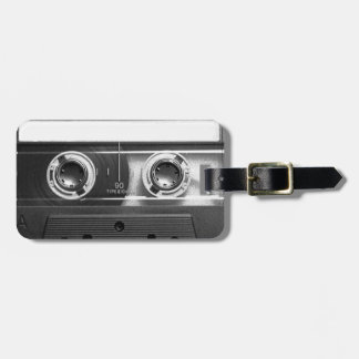 Compact Cassette Tape Luggage Tag