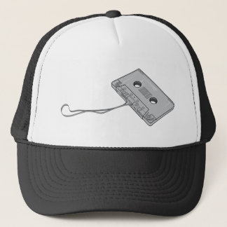 Compact Cassette Tape - Magnetic Recording Tape Trucker Hat
