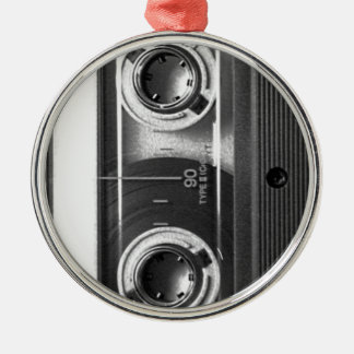 Compact Cassette Tape Metal Ornament