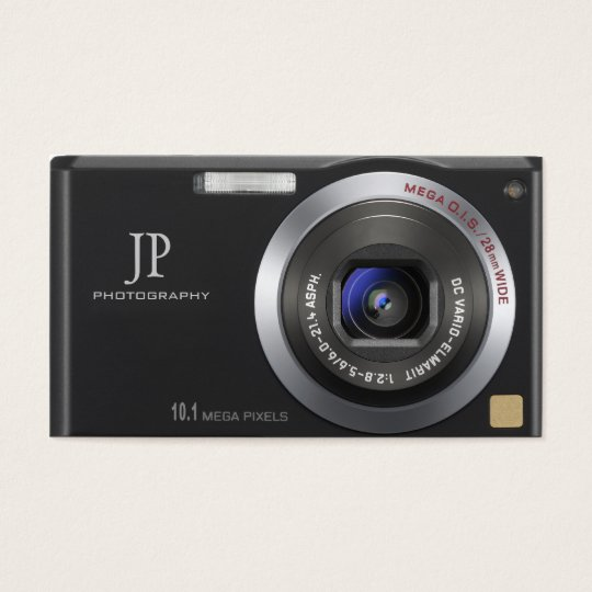 Compact digital camera photographer business card zazzle compact digital camera photographer business card reheart Image collections