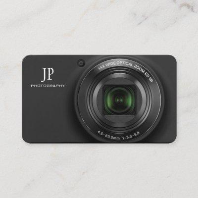 Compact digital camera photographer business card zazzle colourmoves
