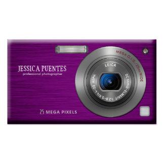 Compact Digital Camera Professional Photographer Business Card
