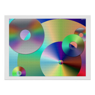 Compact-disc Posters