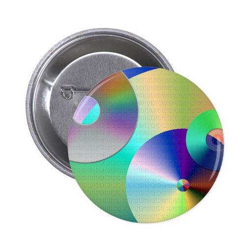 Compact-disc Pin Redondo 5 Cm