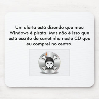 COMPACT DISC Pirate Mouse Pad
