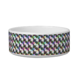 Compact Disc Rainbow Reflective Pattern Pet Water Bowl