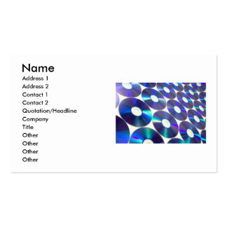 Compact Discs Business Card