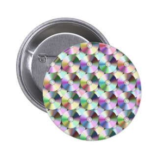 COMPACT DISCS 2 INCH ROUND BUTTON