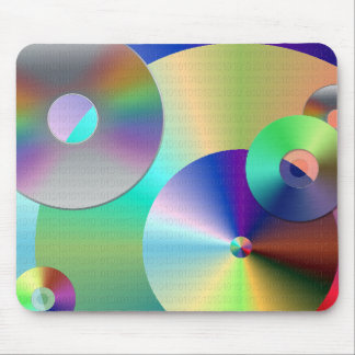 Compact Discs Mouse Pad