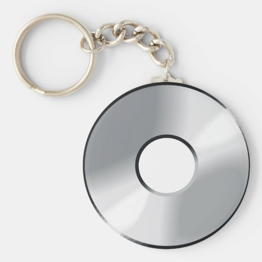compact disk cd keychain