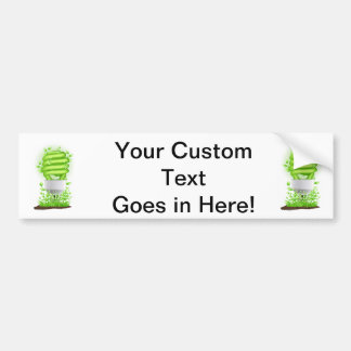 compact flourescent light graphic with grass.png bumper stickers